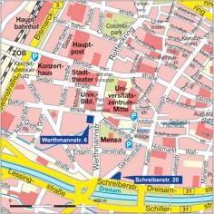 März 2015 - Geographie für ca. 2 Jahre im Ausweichquartier Schreiberstraße 20